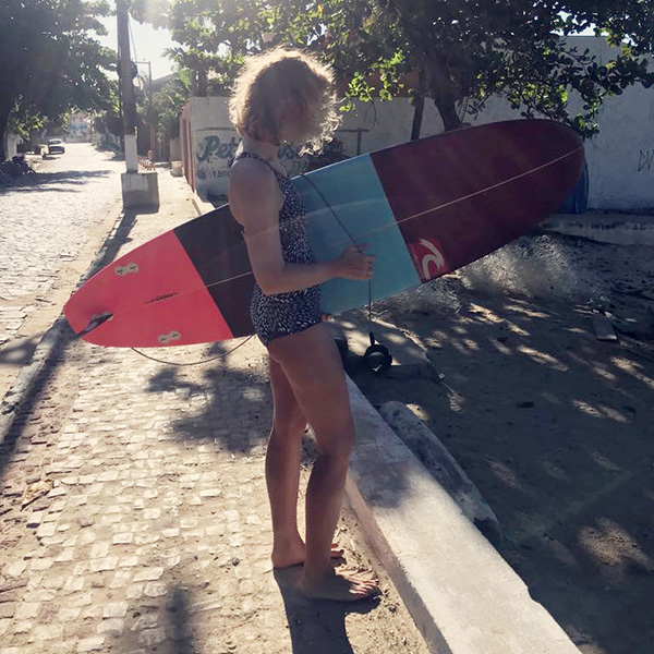 Sweet post surf yoga sequence